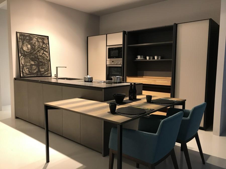 Cucina con penisola Zampieri Cucine Line K e XP